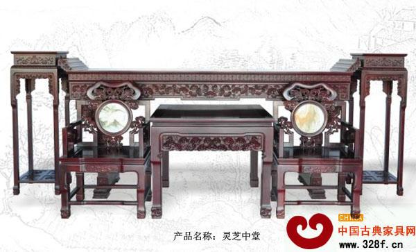 中堂家具首选清式-新会古典家具网图片
