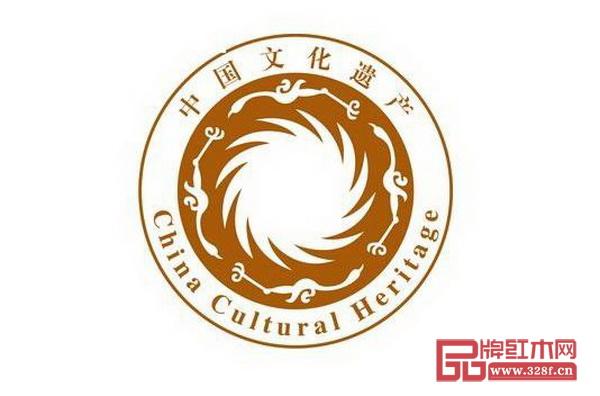 中国文化遗产标志太阳神鸟金饰图案