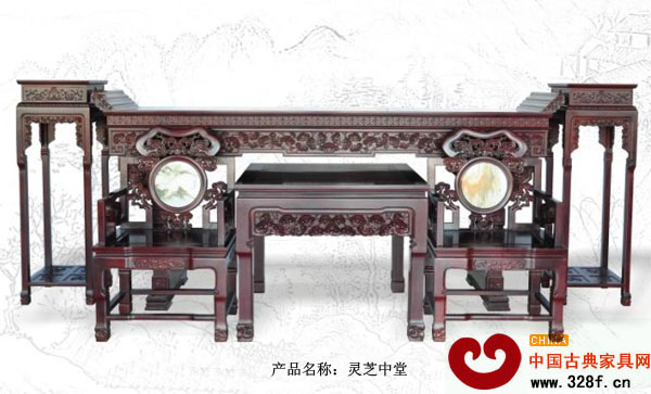 中堂家具首选清式图片